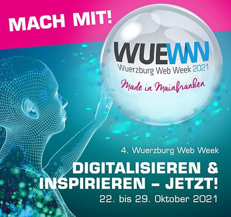 Ein bisschen Bildung zum Tee bei der Würzburg Web Week